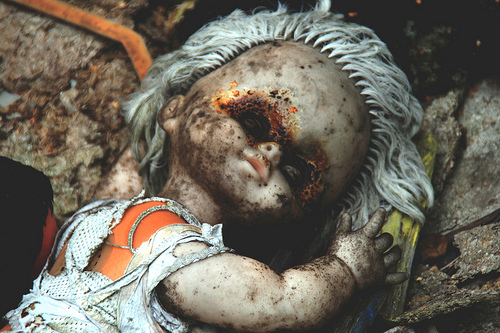 Prypiat Abandoned Doll