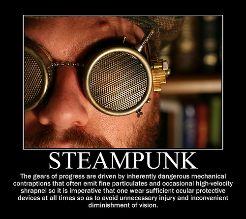 Steampunk Demotivational
